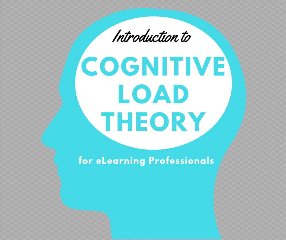 Cognitive Load Theory For Elearning Professionals Canvas Course Shyna Gill Instructional Designer Elearning Developer
