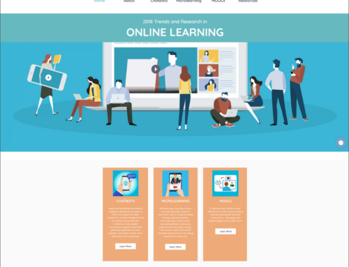 Trends and Research in Online Learning Website